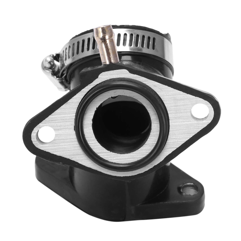 Cikuso Interfaz del Carburador De Las Piezas De La Motocicleta para Yamaha Xv250 XV 250 Virago Junta T/órica Anilla De Carburador Almohadilla De Salida De Admisi/ón M/últiple