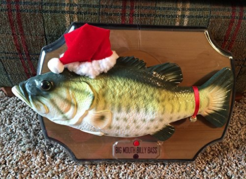 Big Mouth Billy Bass Sings for the Holidays by Gemmy