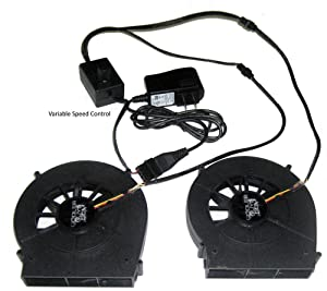 Coolerguys Dual Blower Fan Component Cooler with Manual Speed Control (Lite)