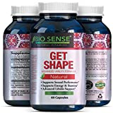 Pure & Potent Breast Enhancer Supplements – Contains Ginseng + L Arginine – Improve Shape Naturally – Breast Enlargement Pills – Boost Your Bust & Curves – Avoid Weight Gain Elsewhere – Bio Sense
