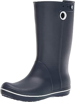 Crocs Women's Crocband Jaunt Rain Boot | Waterproof Rain Boots for Women