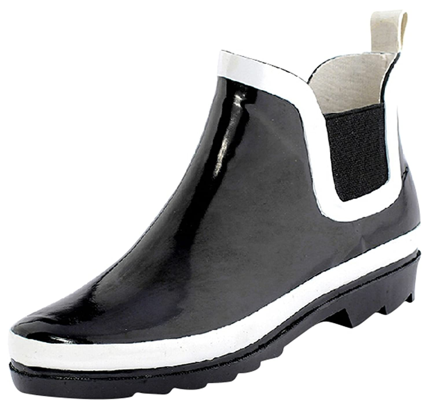 Ace Men's Boys Fashion Waterproof Anti-skid High-top Pull-on Work Boots Rain Boot
