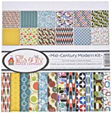Ella & Viv by Reminisce Mid Century Modern Scrapbook Collection Kit