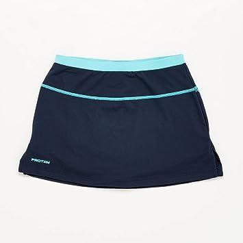 Falda Tenis Azul Marino Celeste Niña Proton (Talla: 10): Amazon.es ...