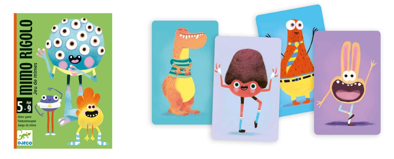 Djeco- Juegos de Cartas, (36): Amazon.es: Juguetes y juegos