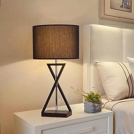 Moderno/Lampade da tavolo Dimmerabile, Paralume in tessuto ...