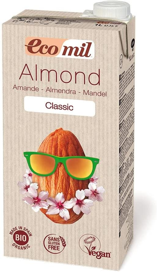 Ecomil - Leche De Almendra Classic Bio Ecomil 1L: Amazon.es: Hogar