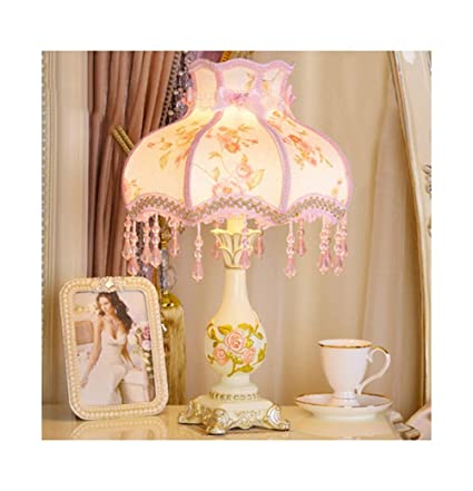 Amazon.com: PPWAN Table Lamp Living Room Warm Wedding ...