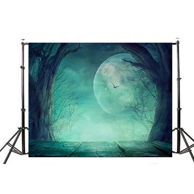 TAOtTAO - Farol de Vinilo de Calabaza para Halloween, Fondo de fotografía, I, 150 * 90cm: Amazon.es: Hogar