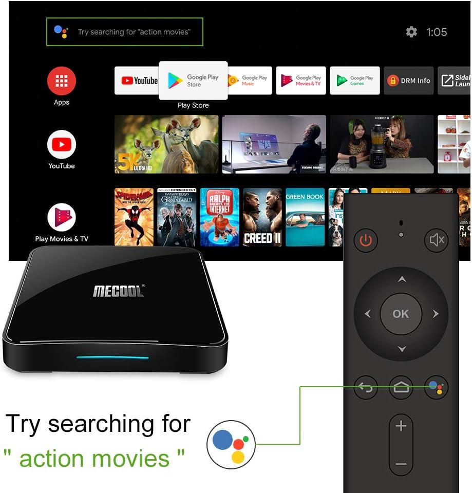 Amazon.com: Mecool TV Box, KM3 Android 9.0 4K TV Box with ...