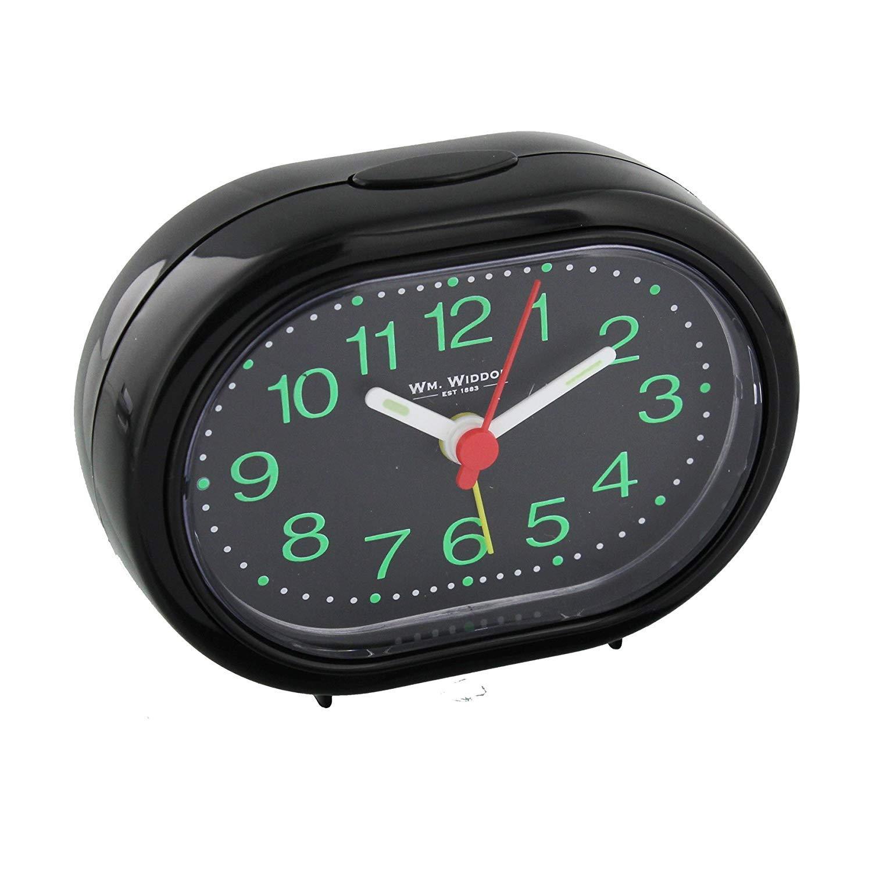 Wm.Widdop Alarm - Oval Beep Function Black Widdop & Bingham