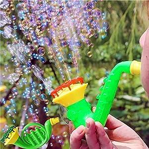 fairy costume Baby Bath Bubble Machine Outdoor Kids Child Toys Water Blowing Toys Bubble Gun Soap Bubble Blower Bubble…
