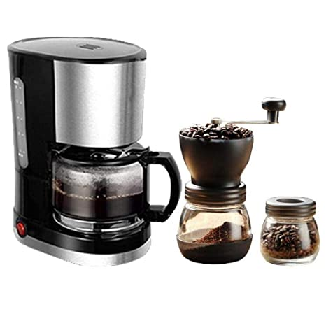 Máquina de Café de Filtro 600Ml para 4 Tazas de Embudo Desmontable ...
