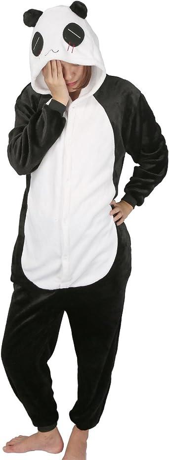 Pijamas Carnaval Disfraz Entero Adultos Unisex Animals Cosplay Ropa de Dormir Regalo Halloween y Navidad