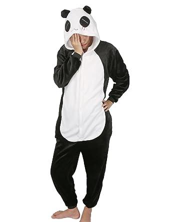 grande vendita 841fa b748e Pigiama Animali Intero Costume di Carnevale Halloween Cosplay Costumi Tuta  Unisex Flanella con Cerniera Indietro