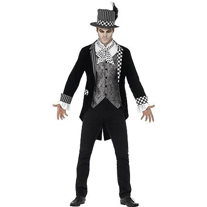 Traje Halloween Hombre - M (ES 48/50) | Disfraz Sombrerero ...