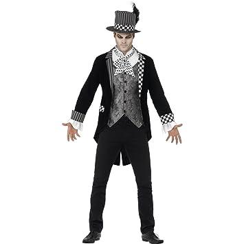 Traje Halloween Hombre - L (ES 52/54) | Disfraz Sombrerero ...