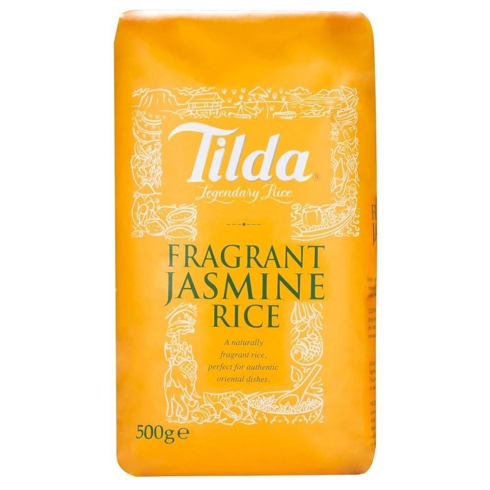 Tilda Fragrant Jasmine Rice (500g) - Pack of 6