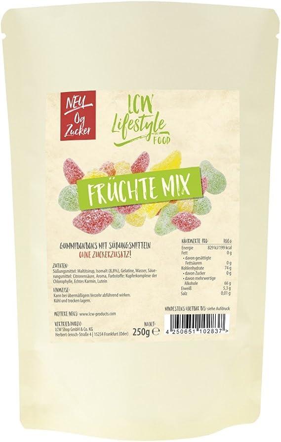Gominolas low-carb mix de frutas 250 g LCW: Amazon.es ...