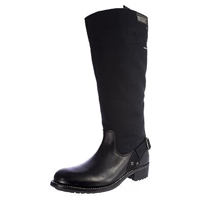 Amazon.com  G-Star Raw Women s Patton Cinch Hi Leather + Canvas Boots  GS41561 400 Black  Shoes 6959e2b200