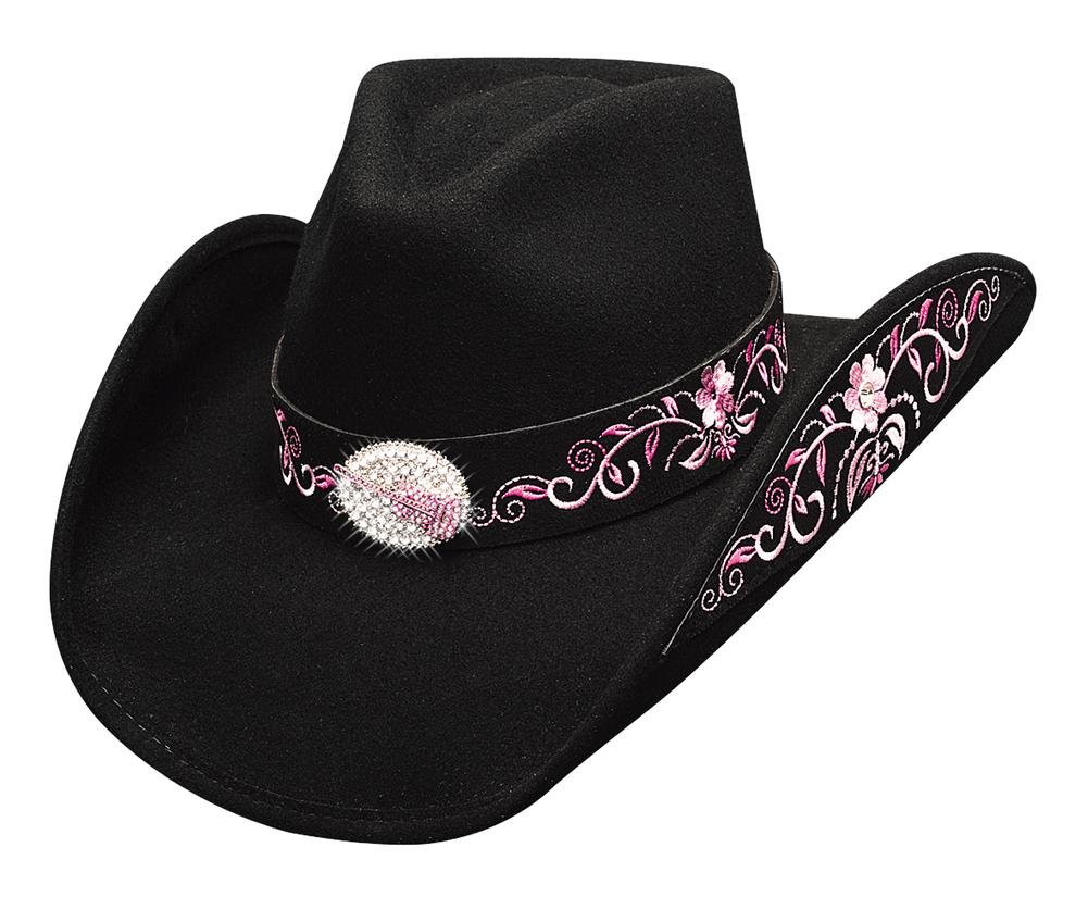 BULLHIDE HAT WESTERN FASHION FELT PLATINUM COLLECTION ROCKIN TO THE BEAT (LARGE)