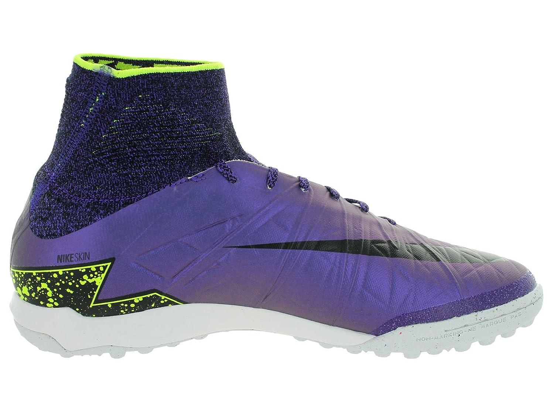 Amazon.com | Nike Men's Hypervenomx Proximo TF Hyper Grape/Black/Crt Prpl/Vlt  Turf Soccer Shoe 10 Men US | Soccer