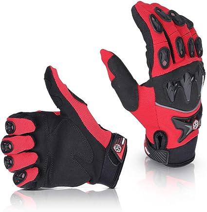 Guantes de moto de verano Full Finger, guantes para moto ...