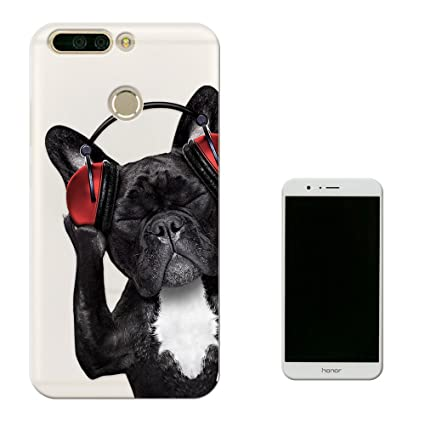 b155e0c71 c00819 - Cool Cute Funny Pug Dog Animal Pet Headphones Music Design Huawei  Honor 9 Premium