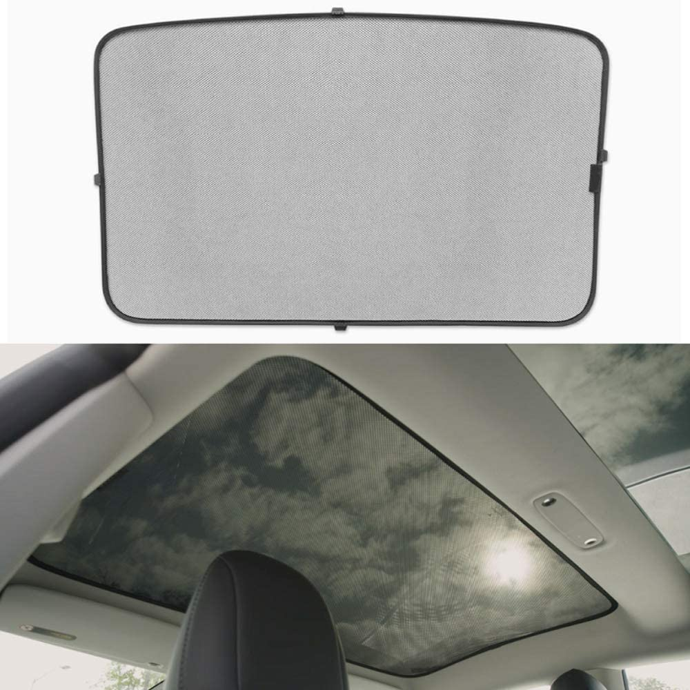 Car Windshield Sunshade Heat Shield SunVisor Mat for Tesla Model 3 Windshield SunShade Front Windshield Visor Foldable Outdoor Sedan