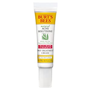 Burt's Bees Natural Acne Solutions Targeted Spot Treatment for Oily Skin, 0.5 Ounces