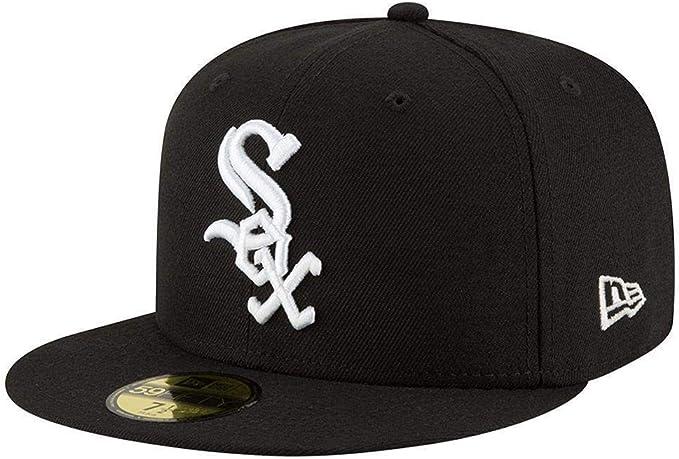 New Era Acperf Chiwhi 59Fifty Cap Chicago White Sox Schwarz