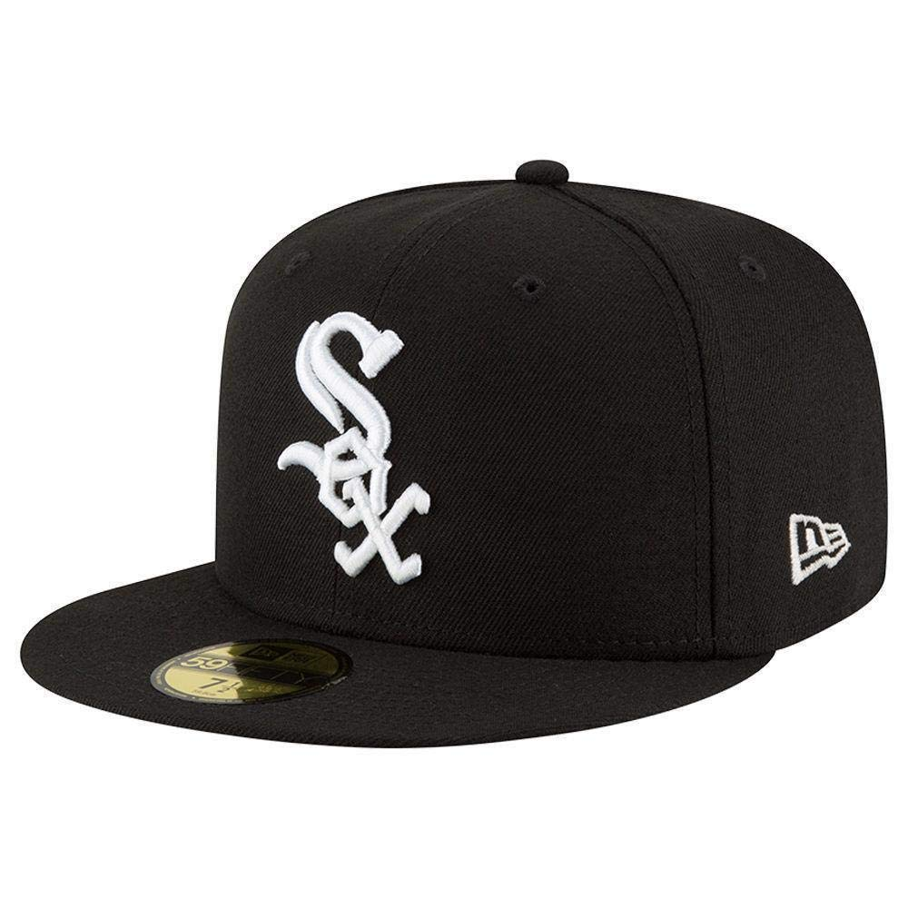 New Era 59FIFTY Chicago White Sox MLB 2017 Authentic Collection On Field Game Cap Size 7 3/4
