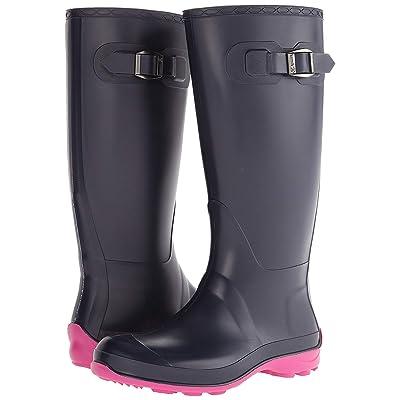 Kamik Women's Olivia Rain Boot Navy/Pink | Rain Footwear