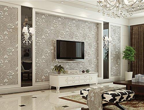 vliestapete wohnzimmer grau. Black Bedroom Furniture Sets. Home Design Ideas