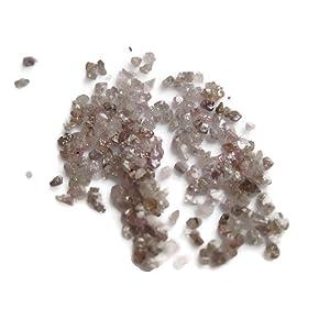 5 Carats Pink Drilled Rough Diamond, Raw Uncut Diamond, Raw Diamond Chips, 1mm To 2mm Approx