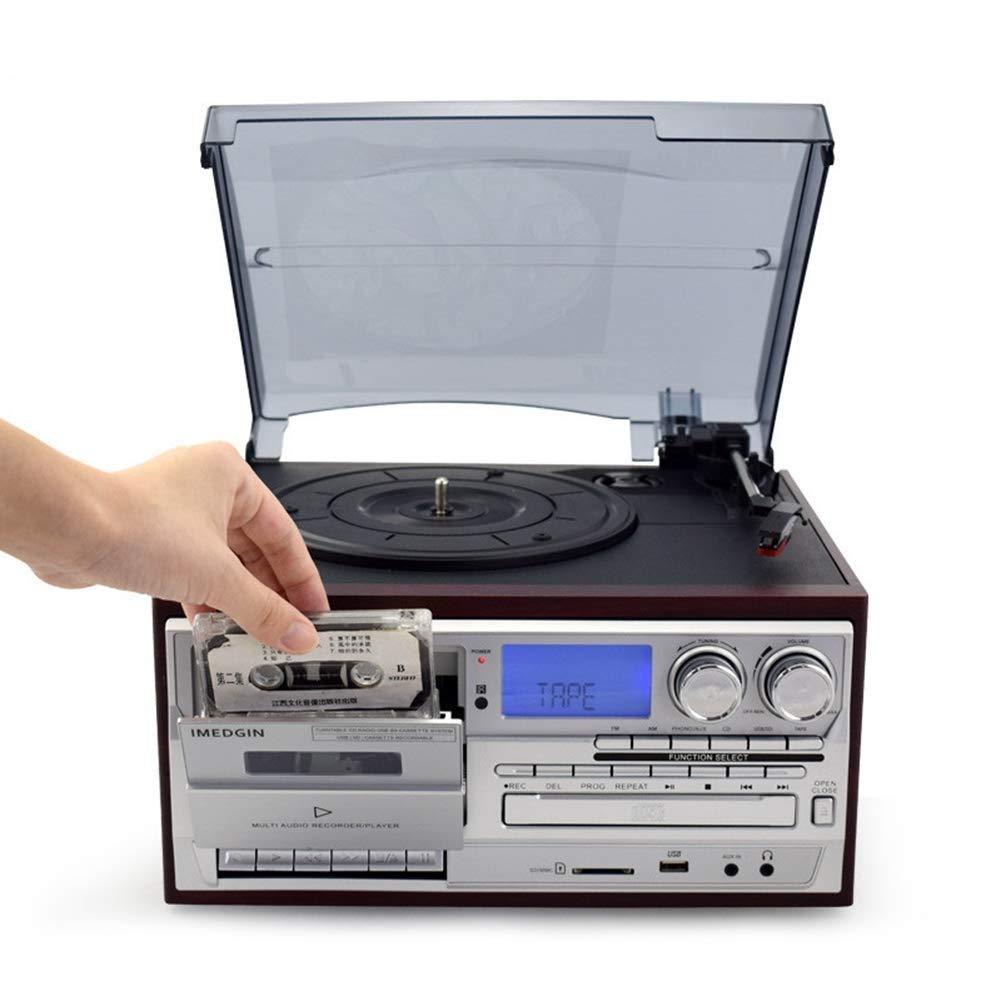 SMDFDN Tocadiscos, Tocadiscos 3 Velocidad del Disco de ...
