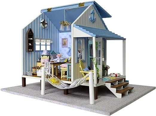 Jeffergrill 3D DIY en Bois Miniature Dollhouse Kits Maison ...