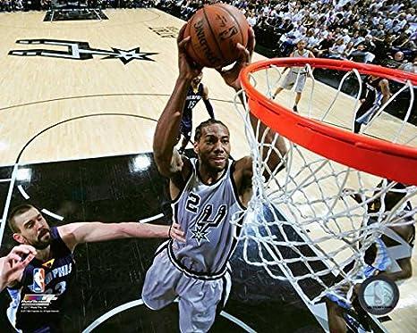 94315dfdac626 Amazon.com : Kawhi Leonard San Antonio Spurs 2017 Playoff Action ...