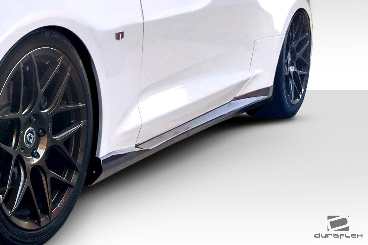 Compatible For Chevrolet Camaro 2016-2018 Duraflex ED-QNC-500 GM-X Side Skirts 2 Piece Body Kit