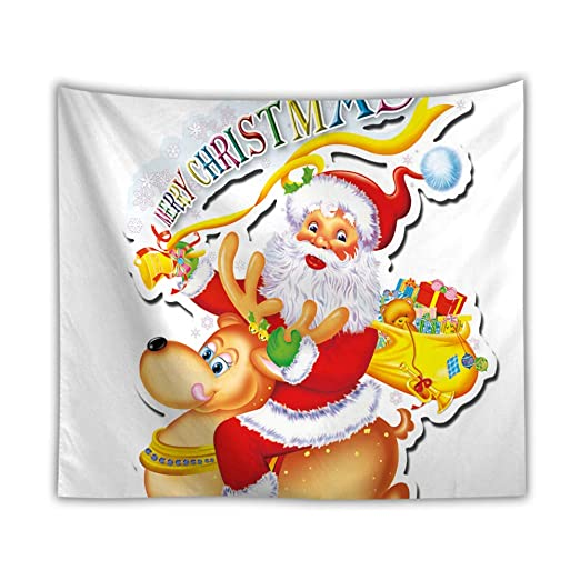 Tapiz De Pelota Pequeña-Tapiz Navidad Colgante de Pared ...