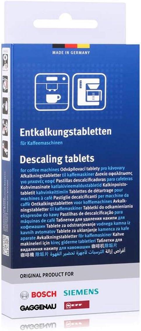 Siemens 311819 00311819 Original 3 x Descalcificador Tab pastillas ...