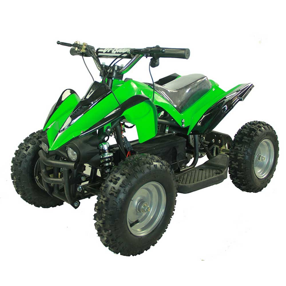 amazoncom youth electric kids quad sport atv for children with reverse red toys games
