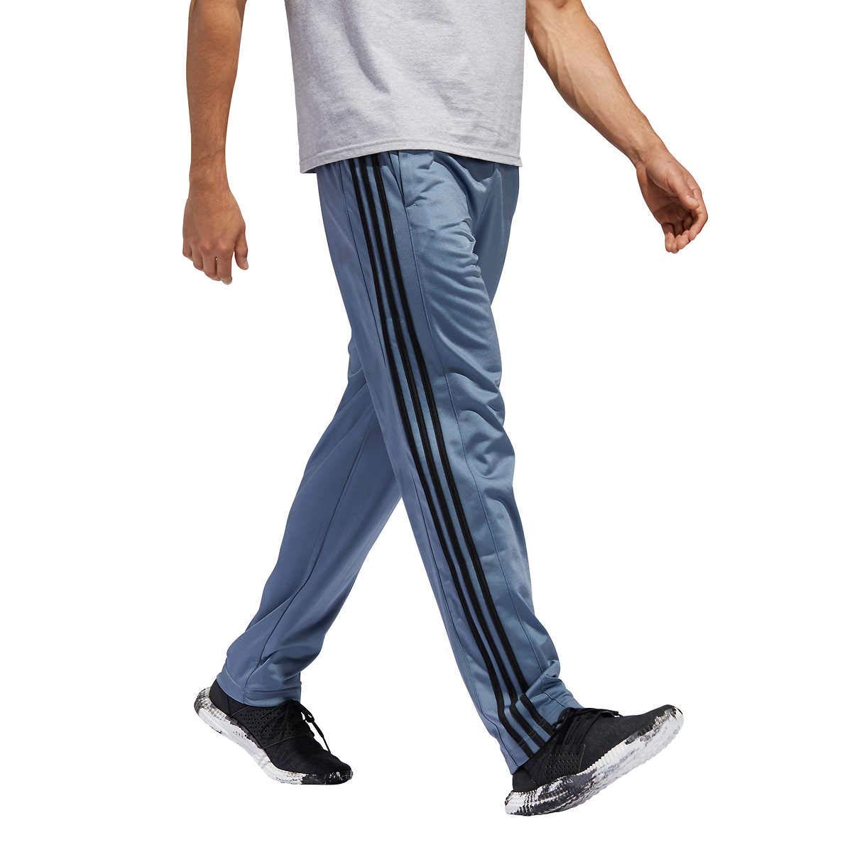 adidas Men's Essential Track Pants Gameday Pant (Rawste Grey, Large)