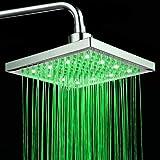 Pommeau de Douche Stoga S002 douche tête 3 couleurs température contrôlée précipitations Top Spray salle de bain pommeau de douche LED