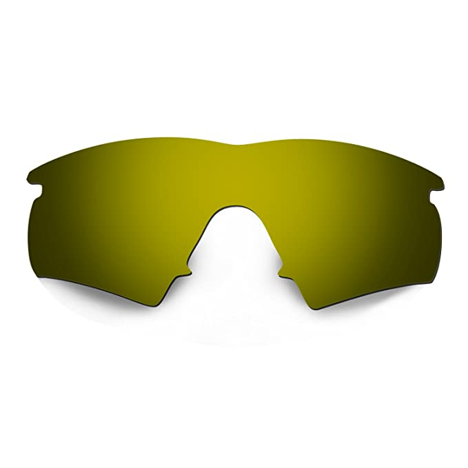 HKUCO Mens Replacement Lenses For Oakley M Frame Hybrid Blue/Black/Titanium/Bronze Sunglasses EI5WhfIjhF