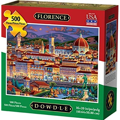 Dowdle Jigsaw Puzzle - Florence - 500 Piece: Toys & Games