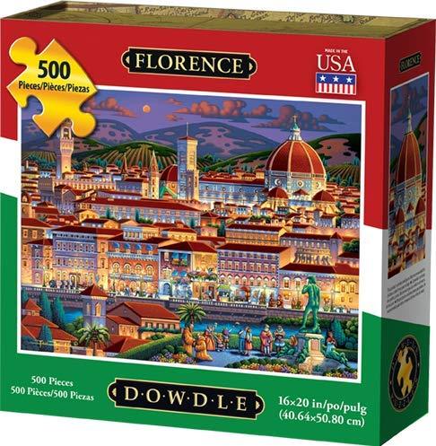 Dowdle Jigsaw Puzzle - Florence - 500 Piece