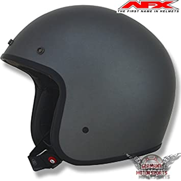 IXS FX76 JET - Casco para motor, mate, modelo diseño Harley Caferacer