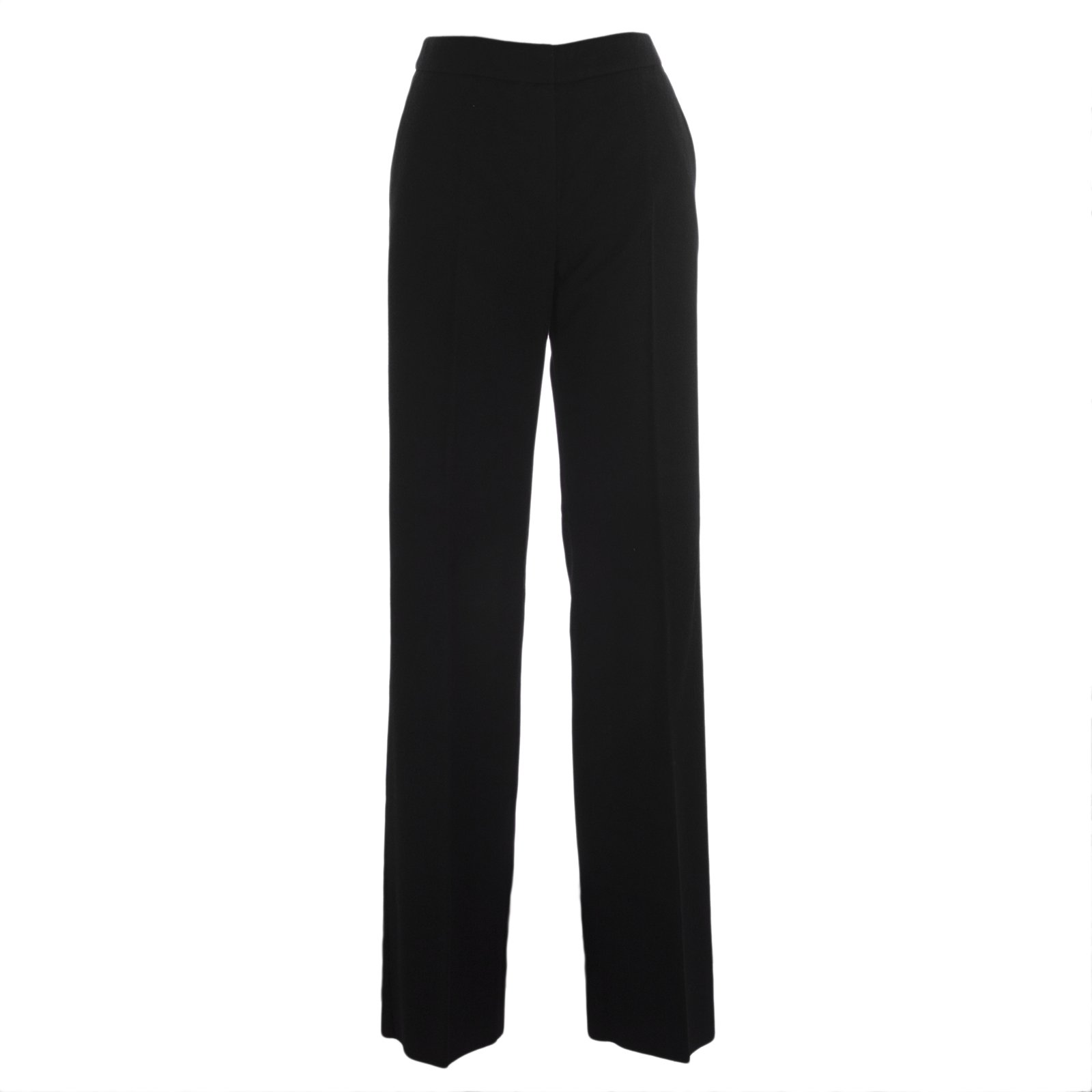 Max Mara Women's Pescia High-Rise Trousers Sz 4 Black