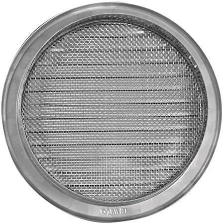 Grille d/'a/ération Grille de protection contre les intemp/éries Grille d/'a/ération /à lamelles en acier inoxydable Bouche d/'a/ération pour hotte aspirante